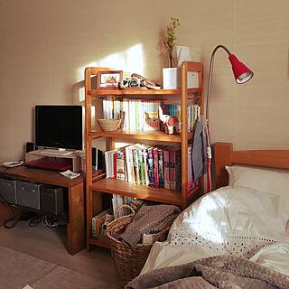 ベッド周り/IKEA/ナチュラル/一人暮らし/ひとり暮らし...などのインテリア実例 - 2018-01-20 08:14:53