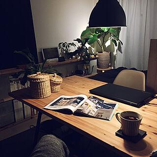 男性32歳の一人暮らし1K、セブンチェアに関するshoshosaiさんの実例写真