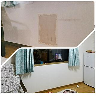 女性51歳の家族暮らし4LDK、息子の部屋に関するKinanさんの実例写真
