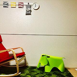 男性一人暮らし1K、IKEA ポエングに関するim3104さんの実例写真