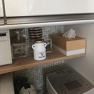 キッチン/キッチン/名古屋モザイク/無印良品/DIY...などのインテリア実例 - 2019-01-30 09:59:23