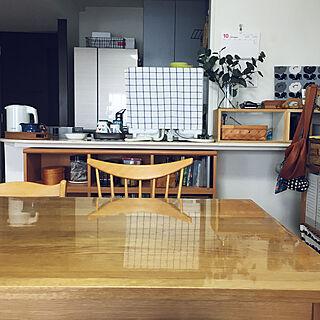 食洗機置き場/置き型食洗機/フェイクグリーン/猫 水飲み/食洗機...などのインテリア実例 - 2018-10-24 13:31:50
