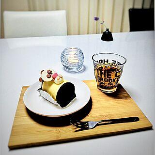 女性家族暮らし2LDK、セロシアキャンドルケーキに関するRisakoさんの実例写真