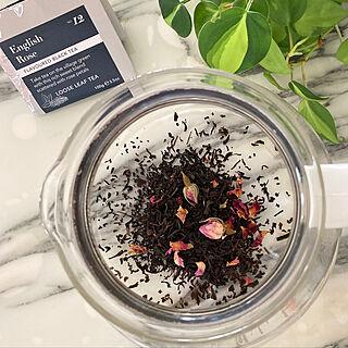 このローズティーだけは大好き/フレーバードティーは苦手ですが/たっぷりの紅茶を毎朝。/紅茶を煎れるのが1日の最初の仕事/朝食用...などのインテリア実例 - 2020-06-06 11:34:28