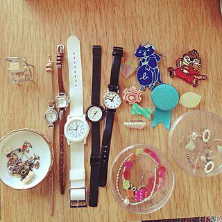 1K、腕時計置きに関するkokekoさんの実例写真