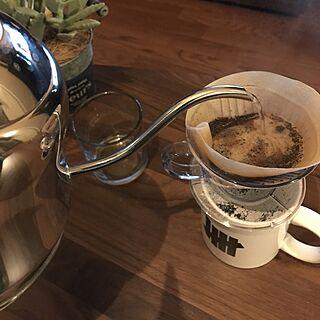 リビング/coffee/観葉植物/雑貨/多肉植物...などのインテリア実例 - 2017-04-11 19:33:55