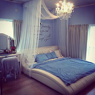 ベッド周り/寝室/アンティーク/雑貨/DIY/ヨーロッパ風...などのインテリア実例 - 2016-09-24 17:34:44