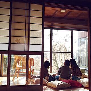 リビング/インナーテラス/古民家/日本家屋/広縁...などのインテリア実例 - 2019-03-22 15:54:24