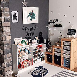 女性家族暮らし3LDK、kids roomに関するkaorii.tさんの実例写真