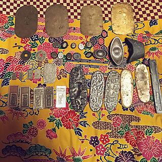 銀貨/古銭/和風雑貨/和風モダン/和モダン...などのインテリア実例 - 2018-08-09 05:10:04