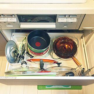 キッチン/収納ケース/収納見直し/収納DIY /開始...などのインテリア実例 - 2017-06-13 18:23:37