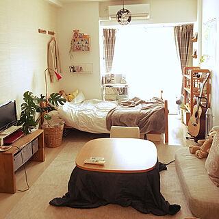 女性26歳の一人暮らし1K、一人暮らし 1Kに関するkatakoさんの実例写真