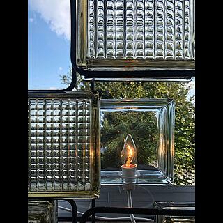ライト/アイアン/ガラスブロック/手作り/壁/天井のインテリア実例 - 2020-02-25 18:57:56