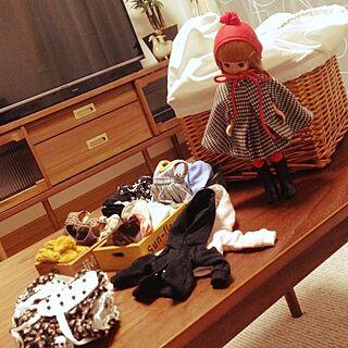 机/生活雑貨/ニトリ/Panasonic/Tiny Betsy McCall...などのインテリア実例 - 2014-10-05 18:05:11