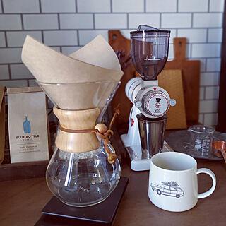 棚/器好き/coffee大好き!/COFFEE LOVER/おうちカフェ...などのインテリア実例 - 2020-03-24 08:19:46