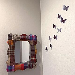 壁への野望/トイレのインテリア難しいですね/私は時計も置きたいです/鏡/新居...などのインテリア実例 - 2019-12-28 21:26:09
