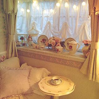 女性49歳の家族暮らし、ロマンチックガーリーに関するyumicyanさんの実例写真