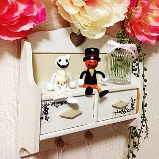 女性家族暮らし、ハロウィン 白いかぼちゃに関するsachiさんの実例写真