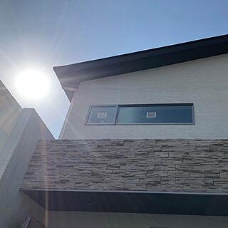 家族暮らし、建築中の玄関に関するichixichiさんの実例写真