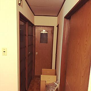 女性同棲2DK、昭和のガラス戸に関するnice27さんの実例写真