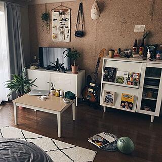 部屋全体/ラコレ/IKEA/ワンルーム/一人暮らし...などのインテリア実例 - 2017-08-31 22:58:15