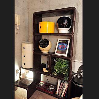男性の、1K、一人暮らしの「棚」についてのインテリア実例