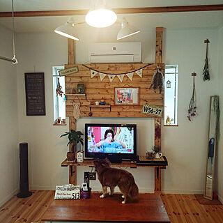 壁/天井/狭小マイホーム/飾り方が分かりません。/雑貨大好き♡/狭い家で楽しむ...などのインテリア実例 - 2018-07-01 07:34:08