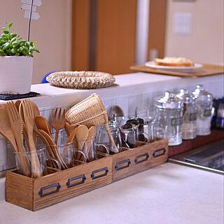 女性の、Other、家族住まいの「キッチン」についてのインテリア実例
