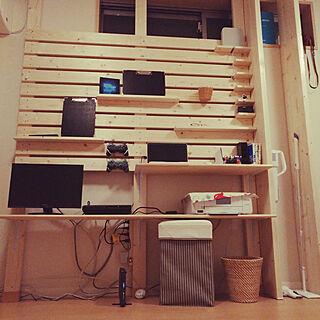 リビング/ディアウォール/DIY/1×4材/2×4材...などのインテリア実例 - 2017-07-24 21:22:50