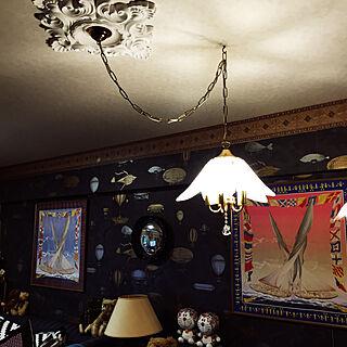 女性家族暮らし3LDK、パリのアパルトマン風に関するokyame-chanさんの実例写真
