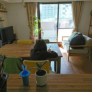 女性44歳の家族暮らし4LDK、家族に関するgonntaさんの実例写真