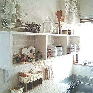 女性39歳の家族暮らし、Anjelちゃん作コンクリートブロックに関するmiho.okuさんの実例写真