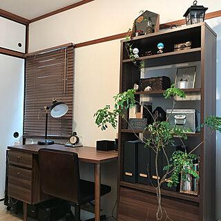 女性一人暮らし2DK、古い机に関するkoharuさんの実例写真