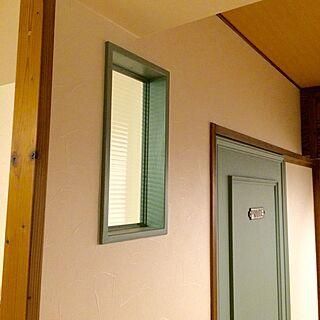 壁/天井/DIY/室内窓/アンティークガラス/モールガラス...などのインテリア実例 - 2016-06-08 22:14:56
