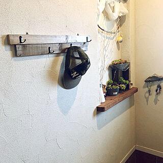女性35歳の家族暮らし2LDK、DIYニッチに関するyu3taro-さんの実例写真