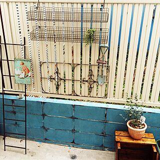 女性37歳の、家の裏のスペースに関するAzuさんの実例写真