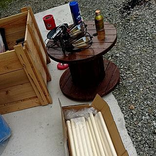 DIY/ガレージ/ケーブルドラム/週末大工/木箱...などのインテリア実例 - 2018-05-03 19:07:59