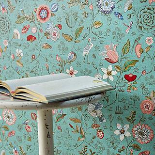 その他4歳のその他、花柄壁紙に関するrefolifeさんの実例写真