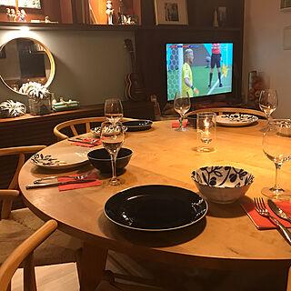 男性家族暮らし2LDK、ニトリのチェアに関するYoheiさんの実例写真