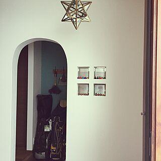 玄関/入り口/照明/エトワール/アーチ型/ガラスブロック...などのインテリア実例 - 2016-11-26 21:36:45