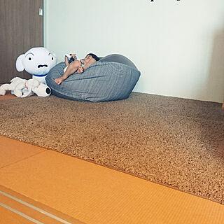 女性家族暮らし、無印のベッドに関するmamiさんの実例写真