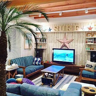 カリフォルニアスタイルの人気の部屋