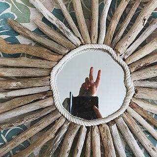 女性30歳の一人暮らし2DK、ナチュラルビーチスタイルに関するMariaさんの実例写真