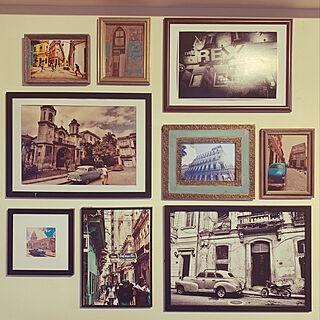 ブルックリンスタイル/男前インテリア/ポスター/アートポスター/写真立て...などのインテリア実例 - 2020-03-01 19:53:07