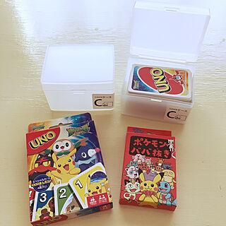 ポケモン/おもちゃ収納/カードゲーム収納/半透明ケース/カードケース...などのインテリア実例 - 2019-09-11 21:42:34