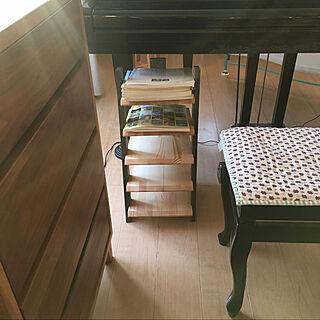 楽譜棚/ちいさなお家/グランドピアノのある暮らし/グランドピアノ KAWAI/ナチュラル...などのインテリア実例 - 2021-01-21 17:54:11