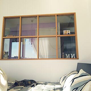 女性家族暮らし3LDK、ベットに関するmiyururu926さんの実例写真