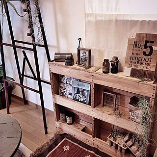 女性46歳の家族暮らし、Tomoちゃんリメ缶❤︎に関するbanbiさんの実例写真