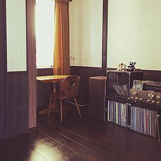 部屋全体/レトロ/アンティーク/喫茶店/テーブル...などのインテリア実例 - 2017-02-27 07:50:04