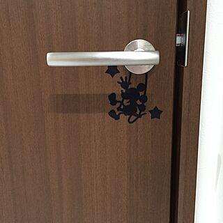 玄関/入り口/ウォールステッカーのインテリア実例 - 2015-01-20 16:36:17